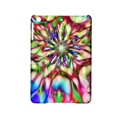 Magic Fractal Flower Multicolored Ipad Mini 2 Hardshell Cases by EDDArt