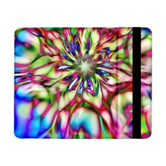 Magic Fractal Flower Multicolored Samsung Galaxy Tab Pro 8 4  Flip Case by EDDArt