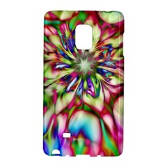 Magic Fractal Flower Multicolored Galaxy Note Edge by EDDArt
