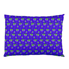 Floral Pattern Pillow Case (two Sides) by Valentinaart