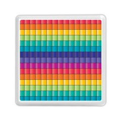 Pattern Grid Squares Texture Memory Card Reader (square)  by Amaryn4rt