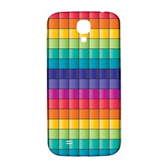 Pattern Grid Squares Texture Samsung Galaxy S4 I9500/i9505  Hardshell Back Case by Amaryn4rt