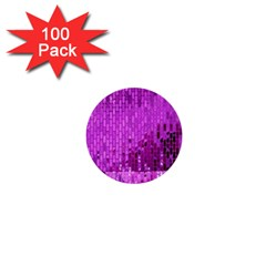 Purple Background Scrapbooking Paper 1  Mini Buttons (100 Pack)  by Amaryn4rt