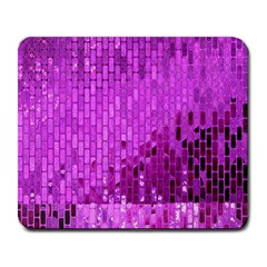 Purple Background Scrapbooking Paper Large Mousepads by Amaryn4rt