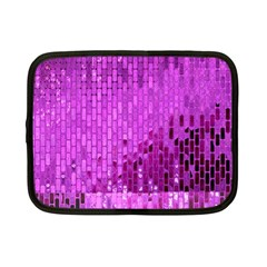 Purple Background Scrapbooking Paper Netbook Case (small)  by Amaryn4rt