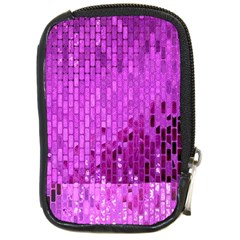 Purple Background Scrapbooking Paper Compact Camera Cases by Amaryn4rt