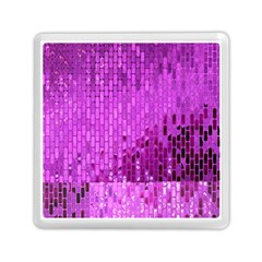 Purple Background Scrapbooking Paper Memory Card Reader (square)  by Amaryn4rt