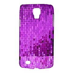 Purple Background Scrapbooking Paper Galaxy S4 Active by Amaryn4rt