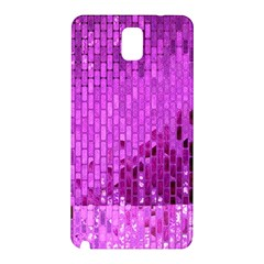 Purple Background Scrapbooking Paper Samsung Galaxy Note 3 N9005 Hardshell Back Case by Amaryn4rt