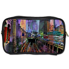 Downtown Chicago Toiletries Bags 2 Side by Amaryn4rt