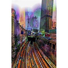 Downtown Chicago 5 5  X 8 5  Notebooks by Amaryn4rt