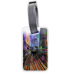 Downtown Chicago Luggage Tags (one Side)