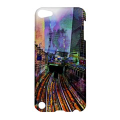 Downtown Chicago Apple Ipod Touch 5 Hardshell Case by Amaryn4rt