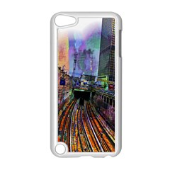 Downtown Chicago Apple Ipod Touch 5 Case (white) by Amaryn4rt