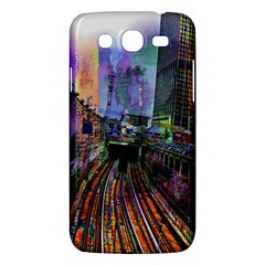 Downtown Chicago Samsung Galaxy Mega 5 8 I9152 Hardshell Case  by Amaryn4rt