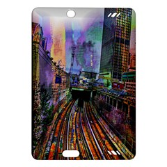 Downtown Chicago Amazon Kindle Fire Hd (2013) Hardshell Case by Amaryn4rt
