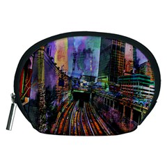 Downtown Chicago Accessory Pouches (medium)  by Amaryn4rt