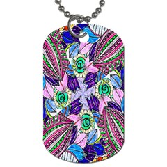 Wallpaper Created From Coloring Book Dog Tag (two Sides) by Amaryn4rt