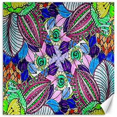 Wallpaper Created From Coloring Book Canvas 16  X 16   by Amaryn4rt