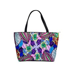 Wallpaper Created From Coloring Book Shoulder Handbags by Amaryn4rt