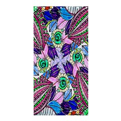 Wallpaper Created From Coloring Book Shower Curtain 36  X 72  (stall)  by Amaryn4rt