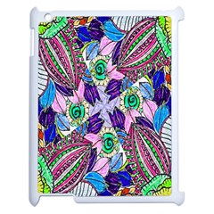 Wallpaper Created From Coloring Book Apple Ipad 2 Case (white) by Amaryn4rt