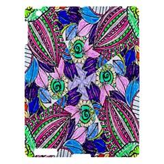 Wallpaper Created From Coloring Book Apple Ipad 3/4 Hardshell Case by Amaryn4rt