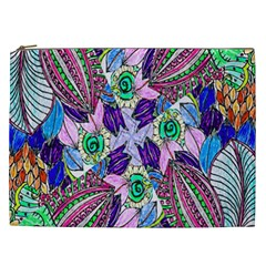 Wallpaper Created From Coloring Book Cosmetic Bag (xxl)  by Amaryn4rt