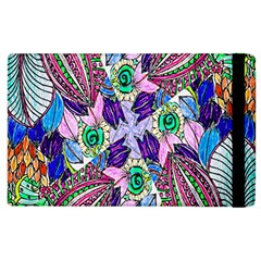 Wallpaper Created From Coloring Book Apple Ipad 3/4 Flip Case by Amaryn4rt