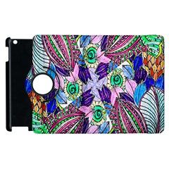 Wallpaper Created From Coloring Book Apple Ipad 3/4 Flip 360 Case by Amaryn4rt