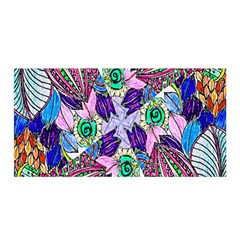 Wallpaper Created From Coloring Book Satin Wrap by Amaryn4rt