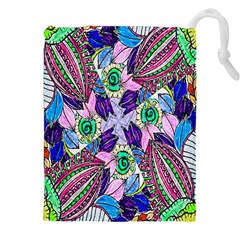 Wallpaper Created From Coloring Book Drawstring Pouches (xxl) by Amaryn4rt