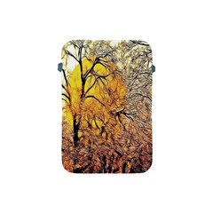 Summer Sun Set Fractal Forest Background Apple Ipad Mini Protective Soft Cases by Amaryn4rt