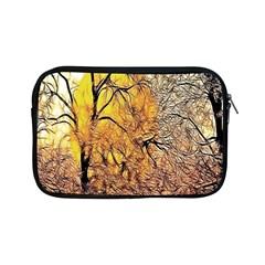 Summer Sun Set Fractal Forest Background Apple Ipad Mini Zipper Cases by Amaryn4rt