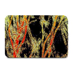Artistic Effect Fractal Forest Background Plate Mats by Amaryn4rt