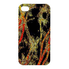 Artistic Effect Fractal Forest Background Apple Iphone 4/4s Hardshell Case by Amaryn4rt