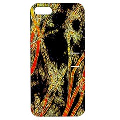 Artistic Effect Fractal Forest Background Apple Iphone 5 Hardshell Case With Stand by Amaryn4rt