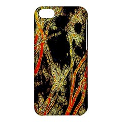 Artistic Effect Fractal Forest Background Apple Iphone 5c Hardshell Case by Amaryn4rt