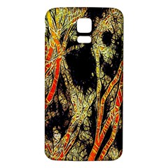 Artistic Effect Fractal Forest Background Samsung Galaxy S5 Back Case (white) by Amaryn4rt