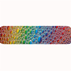 Bubbles Rainbow Colourful Colors Large Bar Mats by Amaryn4rt