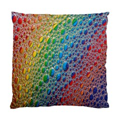 Bubbles Rainbow Colourful Colors Standard Cushion Case (one Side) by Amaryn4rt
