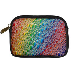 Bubbles Rainbow Colourful Colors Digital Camera Cases by Amaryn4rt