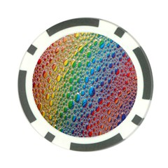 Bubbles Rainbow Colourful Colors Poker Chip Card Guard (10 Pack) by Amaryn4rt