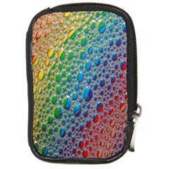 Bubbles Rainbow Colourful Colors Compact Camera Cases by Amaryn4rt