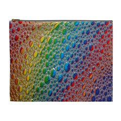 Bubbles Rainbow Colourful Colors Cosmetic Bag (xl) by Amaryn4rt