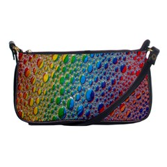 Bubbles Rainbow Colourful Colors Shoulder Clutch Bags by Amaryn4rt