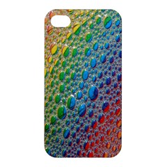 Bubbles Rainbow Colourful Colors Apple Iphone 4/4s Premium Hardshell Case by Amaryn4rt