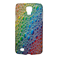 Bubbles Rainbow Colourful Colors Galaxy S4 Active by Amaryn4rt