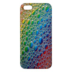 Bubbles Rainbow Colourful Colors Iphone 5s/ Se Premium Hardshell Case by Amaryn4rt