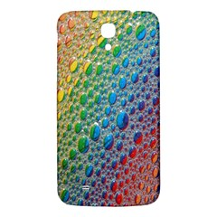 Bubbles Rainbow Colourful Colors Samsung Galaxy Mega I9200 Hardshell Back Case by Amaryn4rt